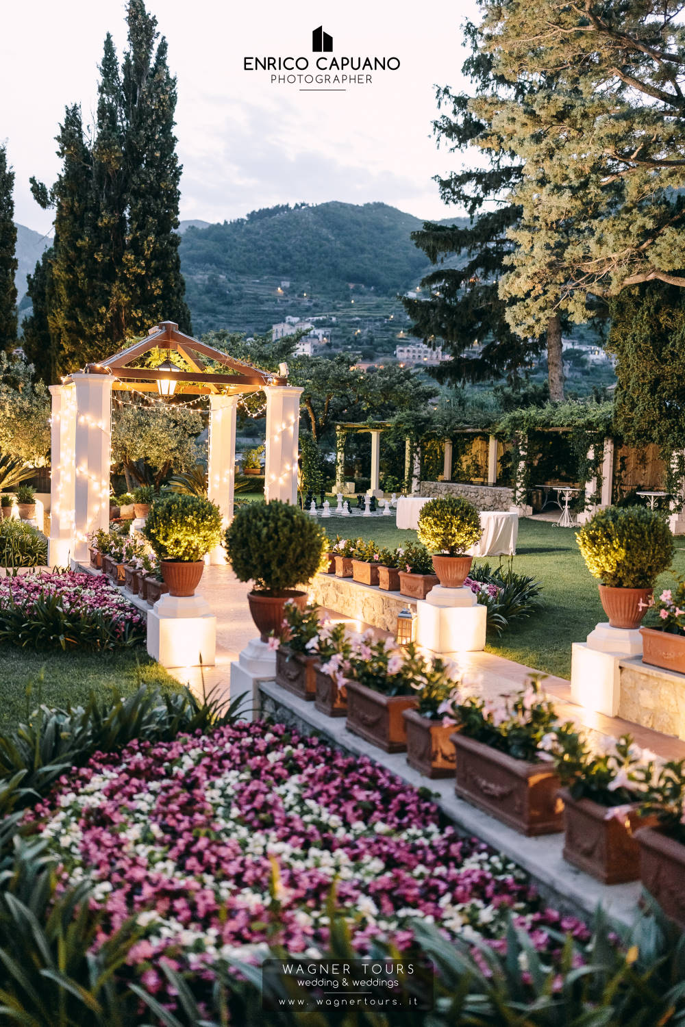 We Have Selected For Our Couples The Nicest And Ideal Venues Offering Great Attention To Wedding Reception In Ravello From A Liberty Villa Exclusive